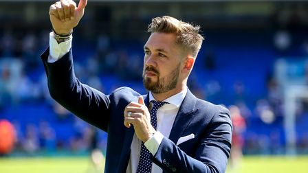 Chambers and the rest of the Ipswich Town players return to training next week. Picture: STEVE WA