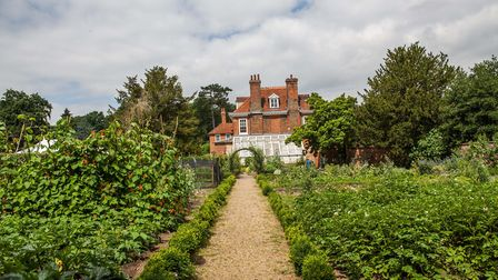 The gorgeous walled garden will be opened to the public this weekend Picture: MUSEUM OF EAST ANGLIAN