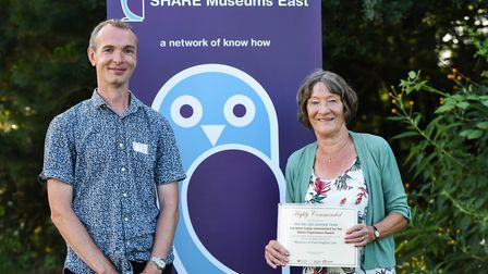 The volunteers at the Museum of East Anglian Life were highly commended at a recent awards ceremony