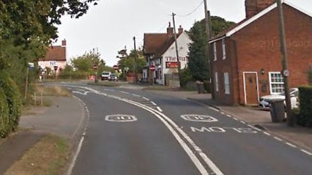 Burglars stole cash and jewellery from a home in Brantham Picture: GOOGLE MAPS