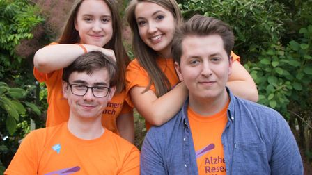 Students from St Benedict's School in Bury St Edmunds hosted a garden party to raise money for chari