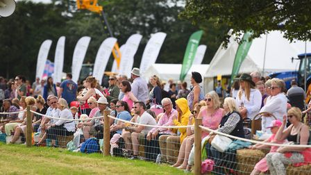 Tendring Show-goers watching the ring spectacles unfold Picture: GREGG BROWN