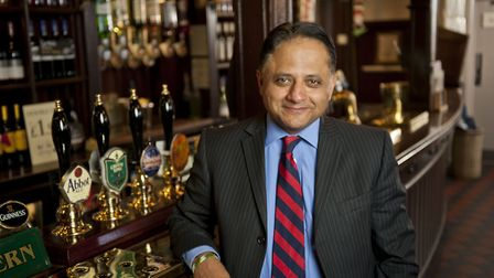 Rooney Anand, chief executive of Greene King Picture: ADAM SMYTH