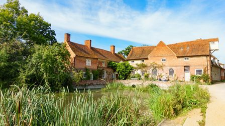 Flatford Mill. Picture: BARRY PULLEN
