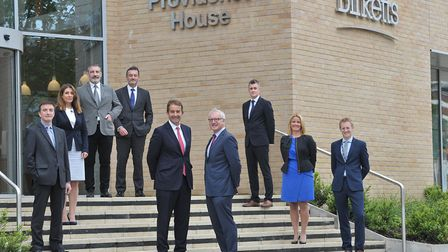 All Ipswich staff at law firm Birketts have moved into its new building in Princes Street. Centre, c