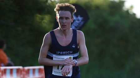 Tom Adams, who won the Sudbury Joggers Friday Five, the first race in the Friday Five Series