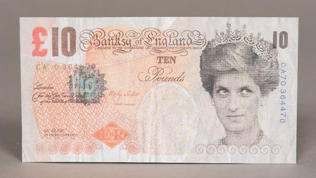 The note is expected to sell for up to £1,200 Picture: ROWLEY'S AUCTIONEERS