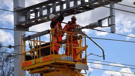 Over-running engineering works have affected rail services (stock imag) Picture: NETWORK RAIL