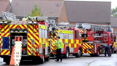 Firefighters are called to help rescue obese patients Picture: ANDY ABBOTT