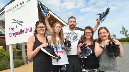 Staff from Norfolk and Suffolk NHS Foundation Trust (NSFT) are taking on a mud run to raise money fo