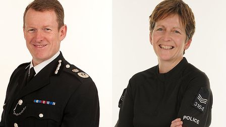 Essex Police officers Stephen Kavanagh and Jan Bloomfield have recieved a Queen's Police Medal in he