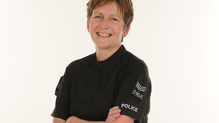 Jan Bloomfield is the force's former youth and anti-social behaviour sergeant Picture: ESSEX POLICE