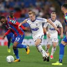 Ipswich Town exited the Carabao Cup at Crystal Palace last season. Picture: PA