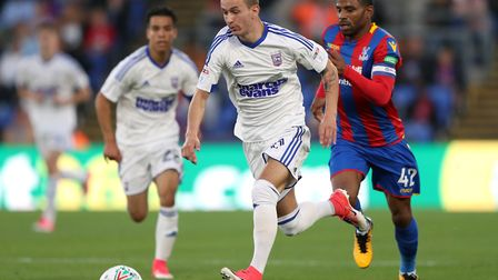 Bersant Celina impressed at times for Ipswich Town last season. Picture: PA