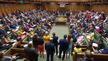 The House of Commons will vote on the amendments to the Brexit Bill propsoed by the Lords Photo: PA