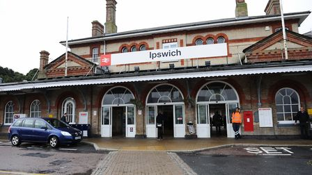 Ipswich train station Picture: LUCY TAYLOR