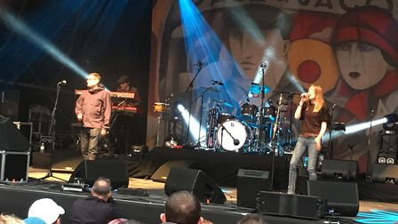 Paul Heaton and Jacqui Abbott at Thetford Forest. Picture: RUSSELL COOK