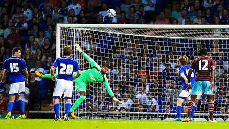 Ipswich Town last played West Ham in 2014. Picture: Steve Waller