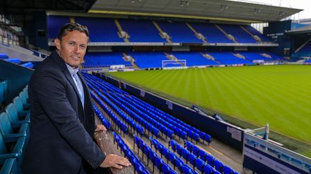 The new manager of Ipswich Town Paul Hurst Picture: STEVE WALLER
