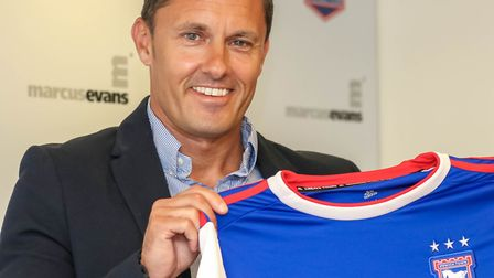 Hurst has signed a three year deal at Portman Road. Picture: Steve Waller