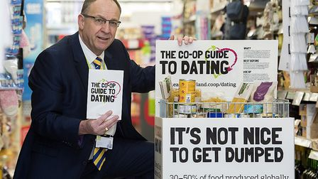 Roger Grosvenor, joint chief executive at the East of England Co-op, The East of England Co-op has