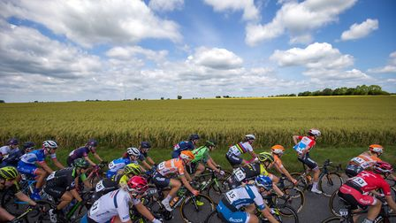 A general view during stage one of the OVO Energy Women's Tour from Framlingham to Southwold Picture