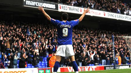 Pabo Counago scored 54 goals in 214 appearances for Ipswich Town. Photo: Sarah Lucy Brown