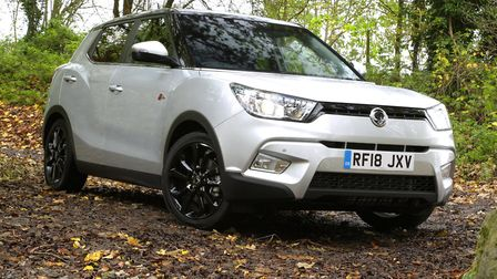 SsangYong Tivoli compact crossover has been joined by a longer XLV version. Picture: SsangYong