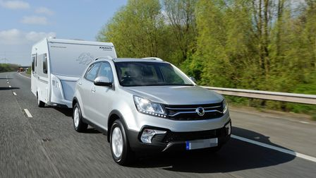 SsangYong Korando is a double Tow Car of the Year class winner. Picture: SsangYong