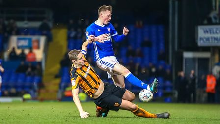 Once he returns from international duty, Morris wants to make his mark at Ipswich. Picture: STEVE