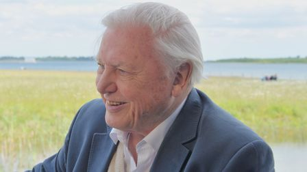 """Sir David Attenborough praised pupils from Clare for """"doing so much to help stop the plastic polluti"""