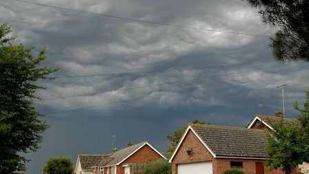 There is a 'small risk' of thunderstorms today, forecasters say. Picture: ALAN BALDRY