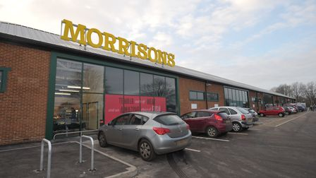 Morrisons in Hadleigh. The supermarket chain is introducing a Quieter Hour. Picture: SARAH LUCY BROW