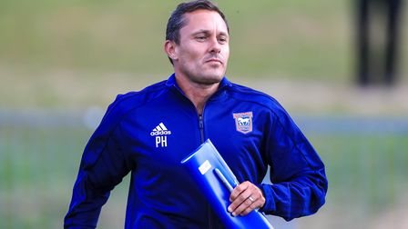 Paul Hurst wants to see his youngsters challenge for places in the first team. Picture: STEVE WALLER
