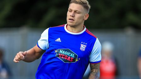 Martyn Waghorn in action at Crawley. Picture: STEVE WALLER