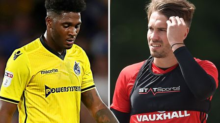 Ellis Harrison and Tom Bradshaw have been linked with Ipswich Town. Picture: PA