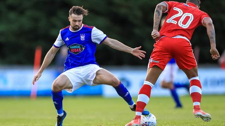 New Ipswich Town signing Gwion Edwards is set to play again after a first appearance against Crawley