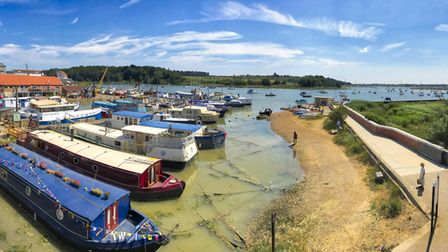 No where better on a sunny day than Woodbridge Picture: BARRY PULLEN