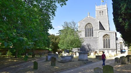 St. Mary's Church in Church Street, Woodbridge Picture: JANICE POULSON