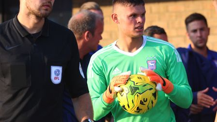 Harry Wright has featured for Ipswich Town during pre-season. Picture: ROSS HALLS