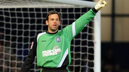 Harry Wright is the son of former Ipswich Town goalkeeper Richard Wright. Picture: PA
