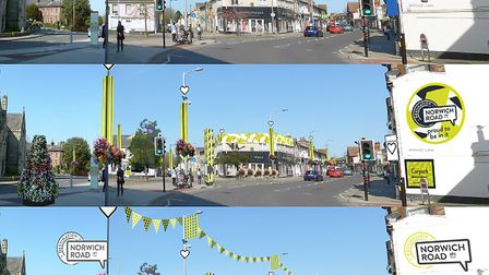 The Destination Norwich Road project aims to deliver a physical transformtion of the area as well as