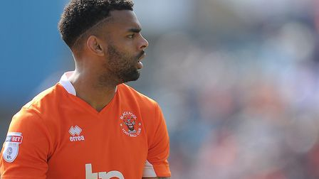 Tilt, 26, has played just one full season in the Football League. Picture: BLACKPOOL GAZETTE