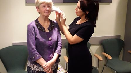 Members of the Sudbury Sings choir were offered free hearing tests Picture: BEATTIE COMMUNICATIONS