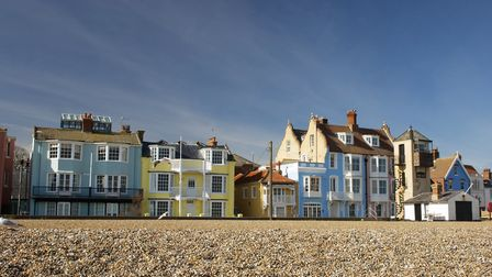 Homes in Aldeburgh are among the priciest of all seaside towns Picture: GETTY IMAGES