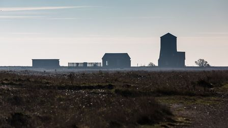 View of Black Beacon at Orford Ness National Nature Reserve Picture: NATIONAL TRUST/RICHARD SCOTT