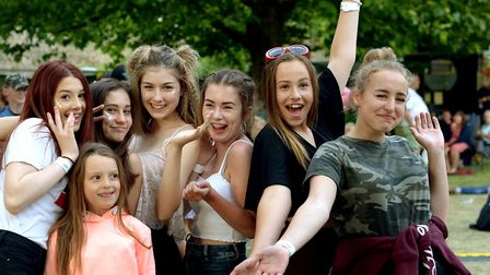 Music lovers enjoyed a host of pop tribute acts in the Abbey Gardens Picture: ANDY ABBOTT