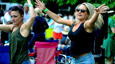 Fans danced the day away to top tribute acts Picture: ANDY ABBOTT