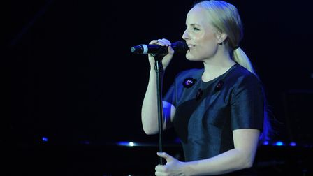 West End star Kerry Ellis performs at The Apex in Bury Picture: PHIL MORLEY