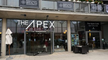 The Apex in Bury has doubled its box office sales in five years Picture: PHIL MORLEY